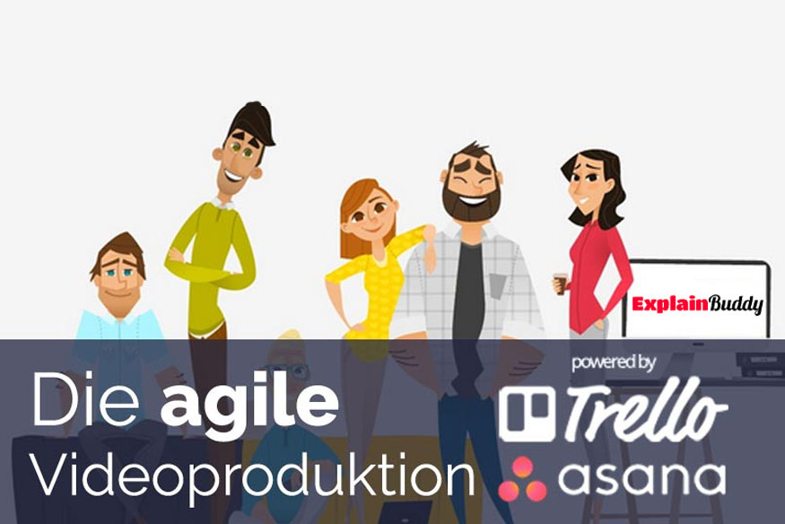 Agiles Projektmanagement mit Trello und Asana