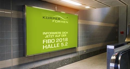 U-Bahnwerbung mit Erklärvideo
