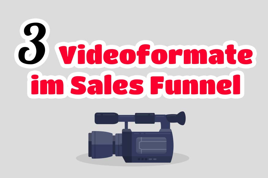 Sales Funnel mit Video